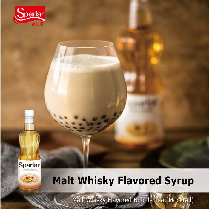 Sparlar Malt Whisky Flavored Syrup_Bubble tea